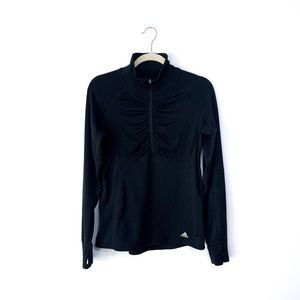 Adidas 1/2 Zip Black Jacket